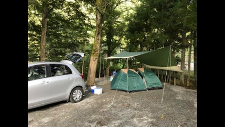 キャンプ 神庭 場 オート