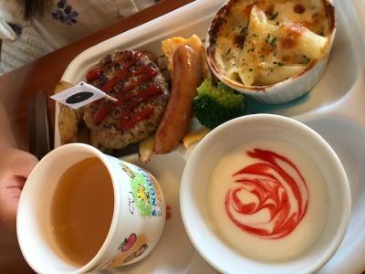子連れ歓迎カフェ・RENO cafeのキッズプレート
