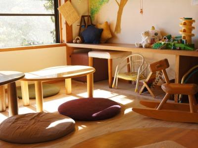 子連れ歓迎カフェ・RENO cafeの2階の座敷