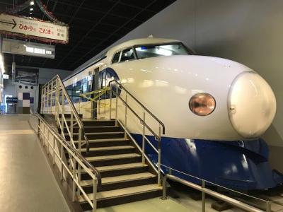 鉄道博物館の新幹線展示車両・ひかりとこだま