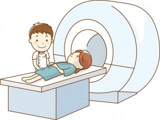 MRI検査のイラスト