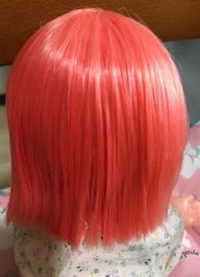 メルちゃんの髪がキレイになった